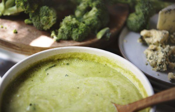 Velouté de chou-fleurs et brocolis ww au cookeo