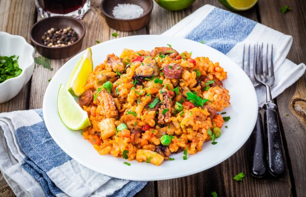 Paella gourmande ww au cookeo