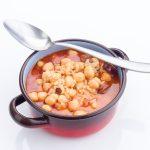 Ragoût de pois chiche tomate chorizo
