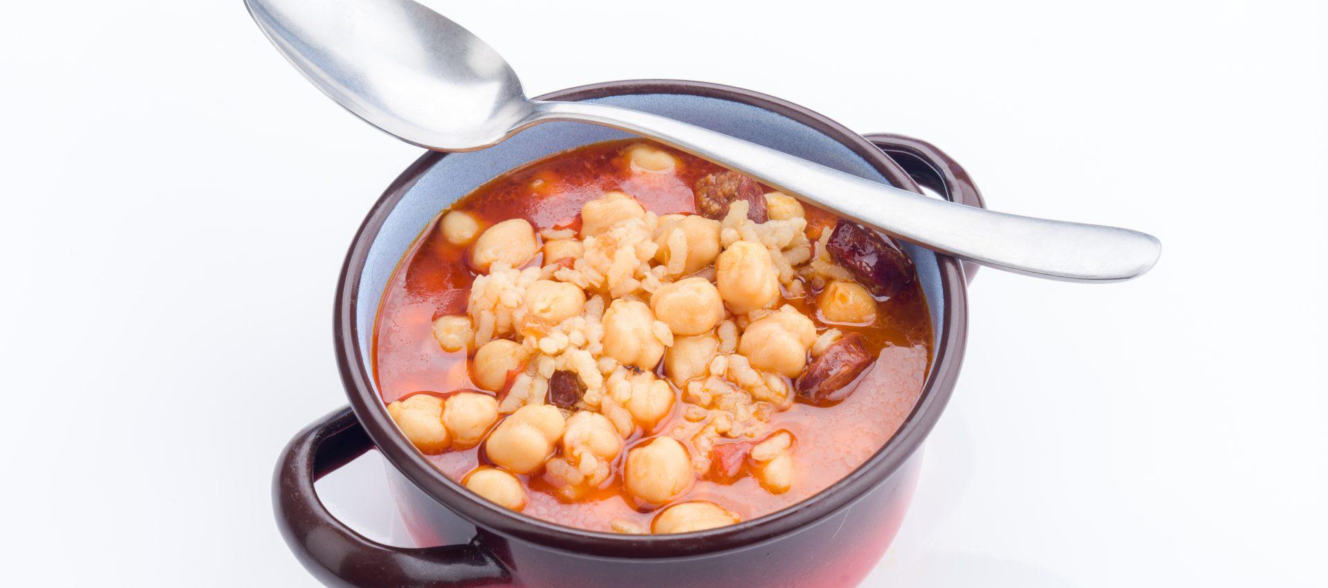 Ragoût de pois chiche tomate chorizo au cookeo