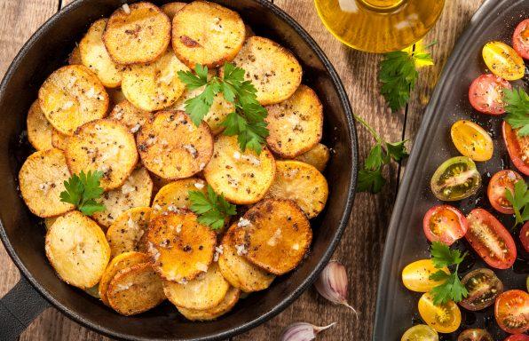 Pommes de terre Sarladaise au ookeo
