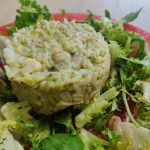Risotto de brocolis et poulet