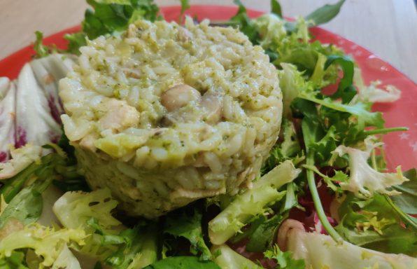 Risotto de brocolis et poulet au cookeo
