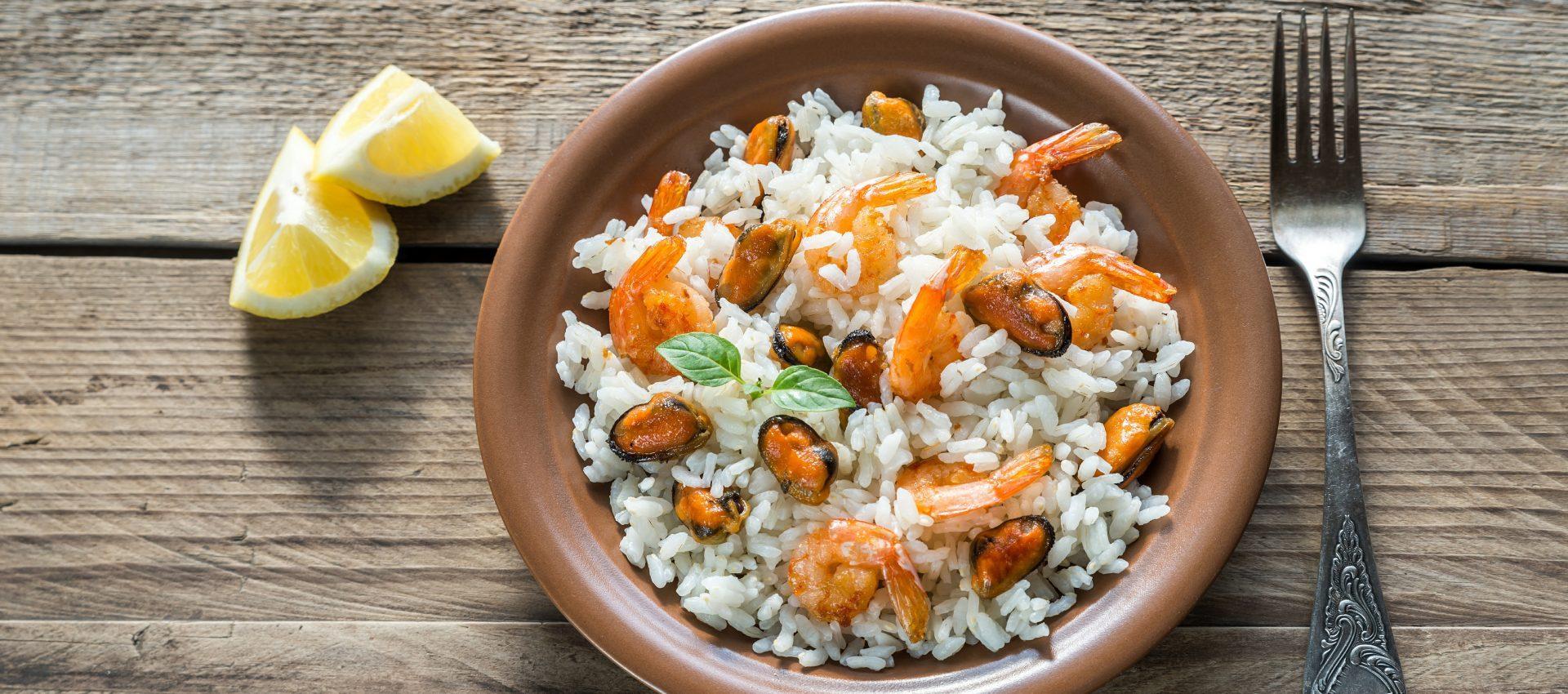 Riz avec moules et crevettes au cookeo