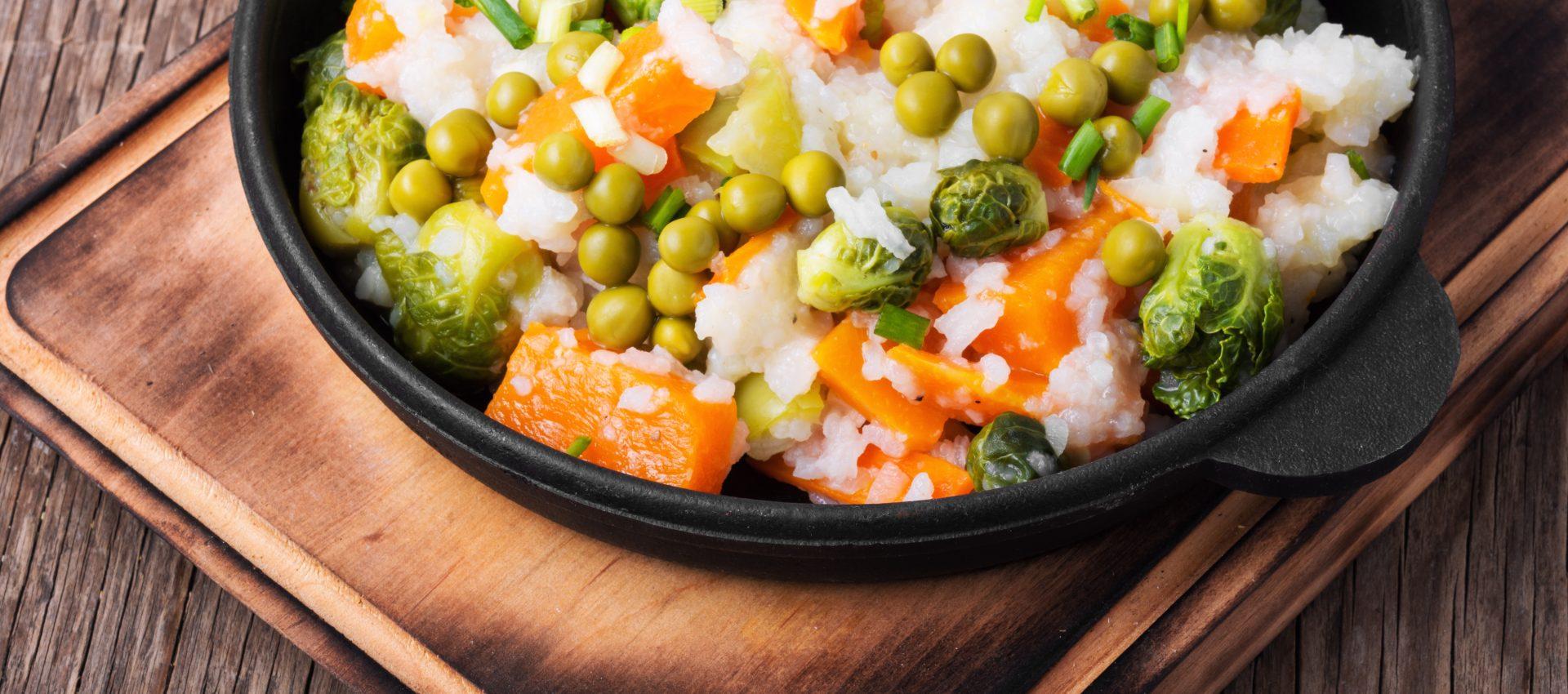 Risotto de petits légumes au cookeo