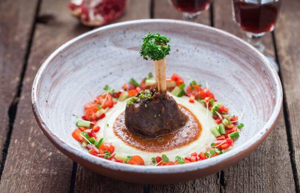 Souris d'agneau au miel et petits légumes frais au cookeo