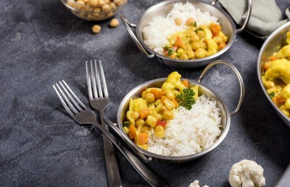 Curry de chou-fleur et butternut au cookeo