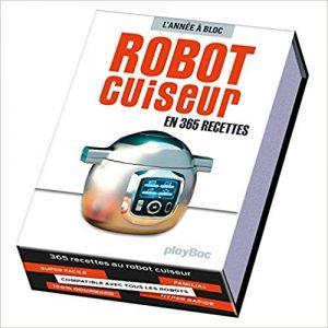 Calendrier 365 recettes au robot cuiseur