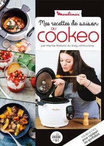 Livre Mes recettes de saison au cookeo