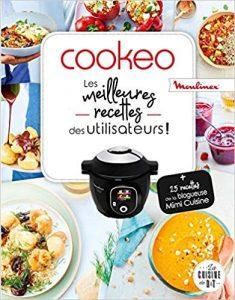 Livre les meilleures recettes des utilisateurs cookeo