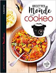 Livre recettes du monde au cookeo