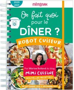 On fait quoi pour le dîner au robot-cuiseur Mémoniak 2020-2021