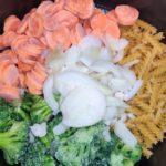 One pot pasta carottes brocolis au cookeo