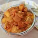 Poulet carottes et pommes de terre sauce curry coco au cookeo