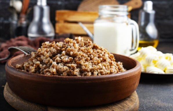 Graine de sarrasin au beurre au cookeo