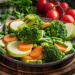 Légumes vapeur au cookeo