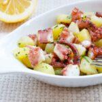 Salade de poulpe pomme de terre au cookeo