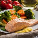 Saumon et légumes à la vapeur au cookeo