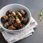 Champignons marinés et thym au cookeo