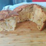 Gâteau aux pommes sans lactose au cookeo