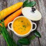 Velouté de carottes simple au cookeo