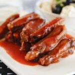 Ailes de poulet sauce tomate au cookeo