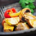 Légumes rôtis à l'extra crisp au cookeo