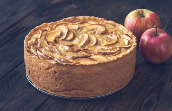 Gâteau aux pommes et fromage blanc à l'extra crisp au cookeo