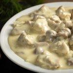 Filet de dinde et champignons sauce à la bière au cookeo