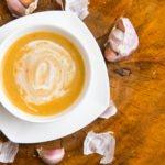 Soupe à l'ail crémeuse au cookeo