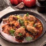 Ragoût de poulet au cookeo