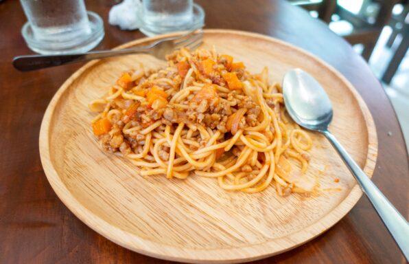 Spaghettis bolognaise simple au cookeo
